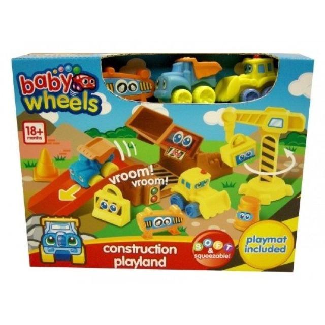 Obrázek produktu Stavební sada + dvě autíčka