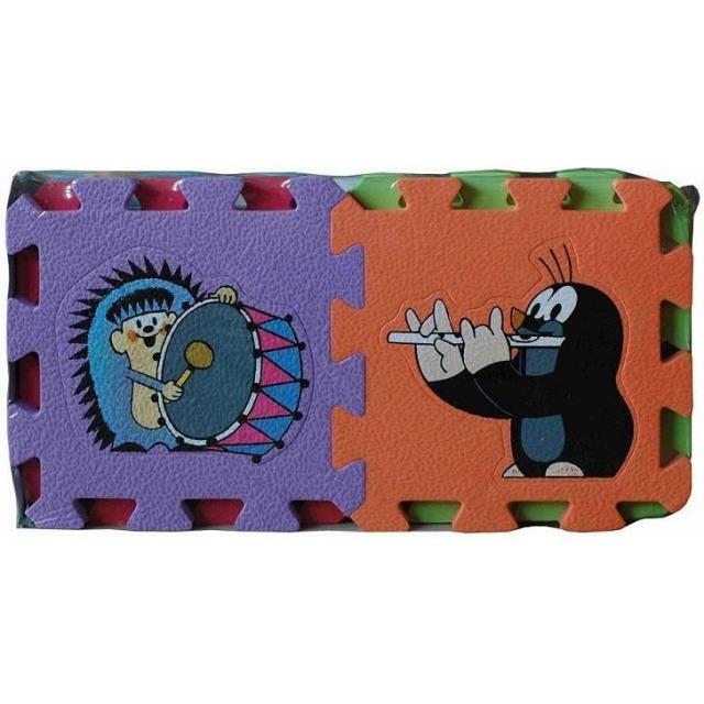 Obrázek produktu Pěnové puzzle Krteček 15x15cm