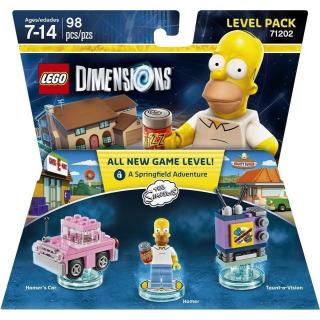 Obrázek 1 produktu LEGO Dimensions 71202 Level Pack: The Simpsons