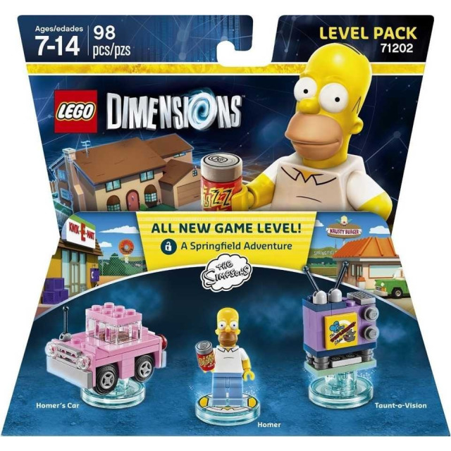 Obrázek produktu LEGO Dimensions 71202 Level Pack: The Simpsons