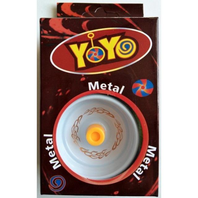 Obrázek produktu Jojo s kovovým středem bílé