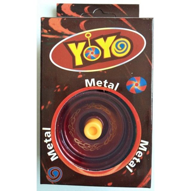 Obrázek produktu Jojo s kovovým středem červené