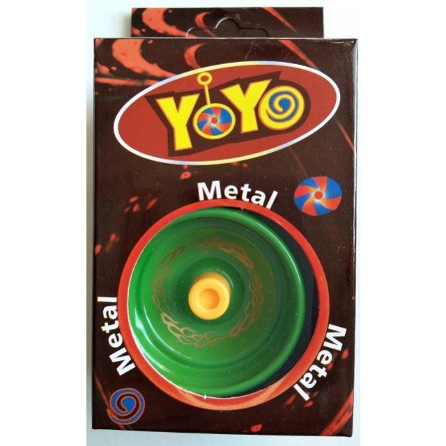 Obrázek produktu Jojo s kovovým středem zelené