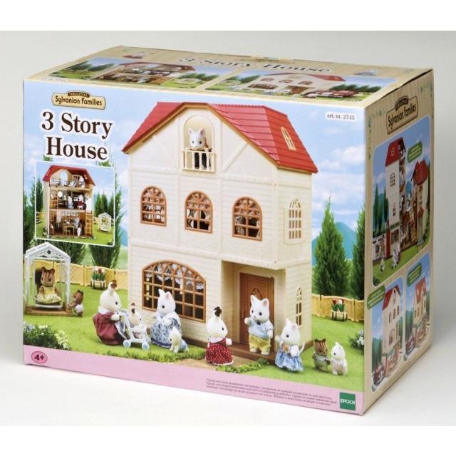 Obrázek produktu Sylvanian Families 2745 Třípatrový dům