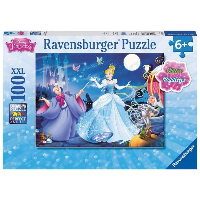 Obrázek produktu Ravensburger 13671 Puzzle Disney princezny Popelka 100 dílků svítící