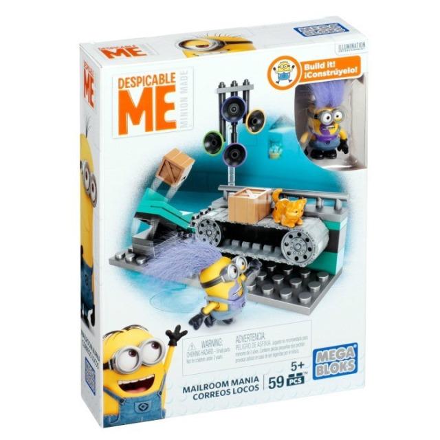 Obrázek produktu Mega Bloks Mimoňové Bláznivá třídírna pošty