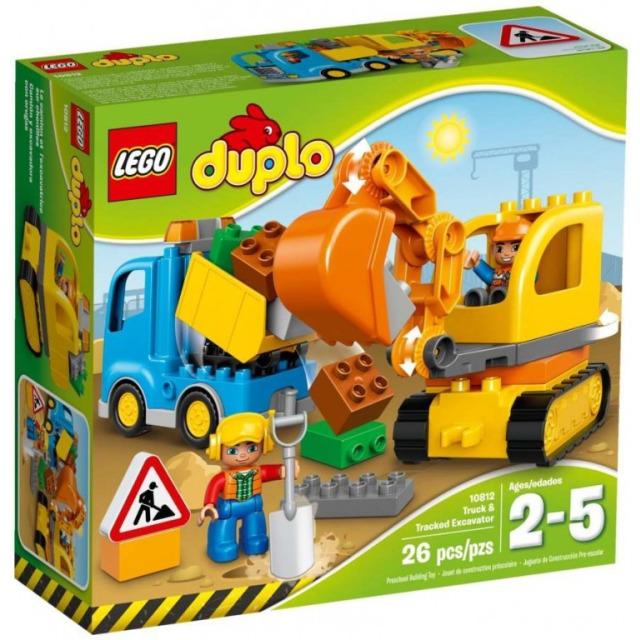 Obrázek produktu LEGO DUPLO 10812 Pásový bagr a náklaďák