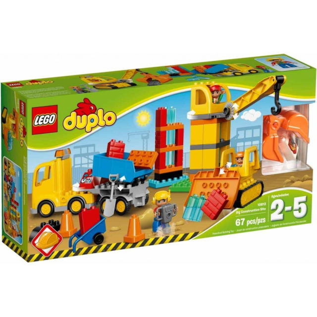 Obrázek produktu LEGO DUPLO 10813 Velké staveniště