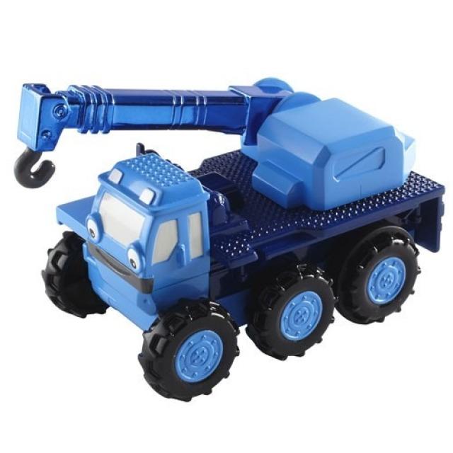 Obrázek produktu Bořek stavitel, auto na setrvačník Jeřáb Lůďa, Fisher Price DGY52