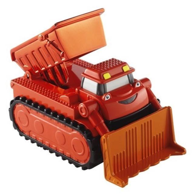 Obrázek produktu Bořek stavitel, auto na setrvačník Buldozer Max, Fisher Price DGY51