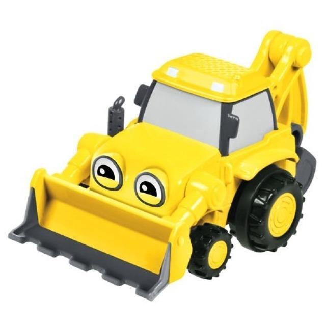 Obrázek produktu Bořek stavitel, auto na setrvačník Bagr Béďa, Fisher Price DGY50