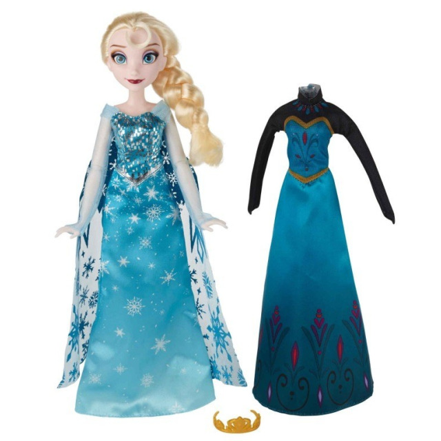 Obrázek produktu Frozen Ledové království Elsa s náhradními šaty, Hasbro B5170