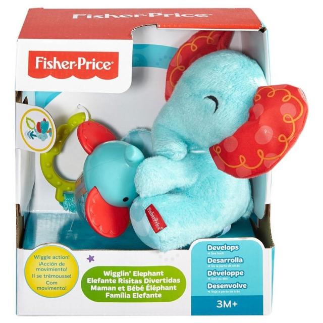 Obrázek produktu Aktivní Plyšový slon se slůnětem 3 v1, Fisher Price CDN53