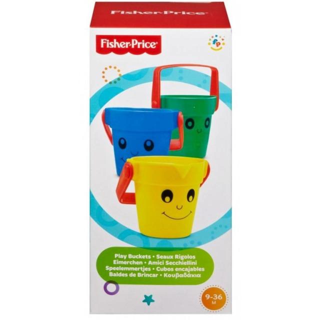 Obrázek produktu Barevné kbelíky do vany, Fisher Price 75606