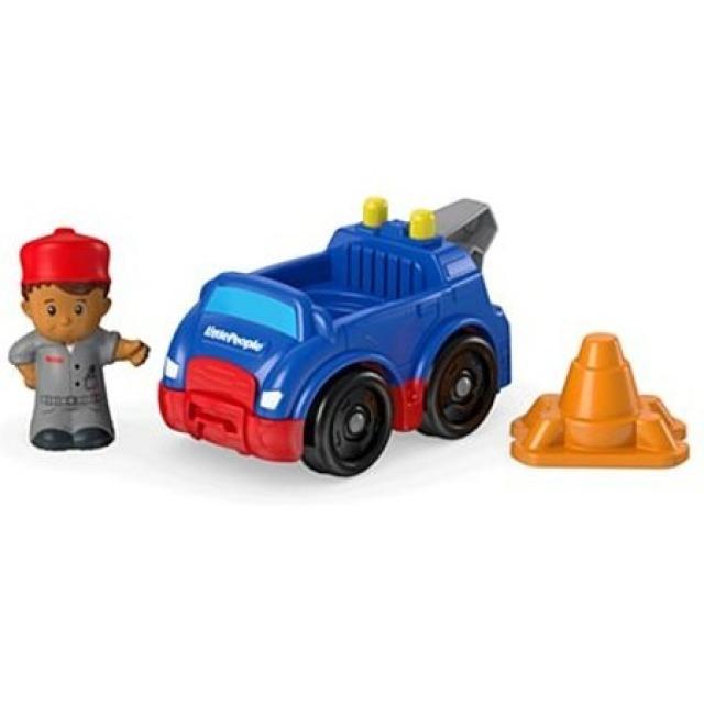 Obrázek produktu Fisher Price Little People Odtahovka s řidičem, Mattel CHP49