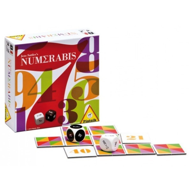 Obrázek produktu NUMERABIS společenská logická hra, Piatnik