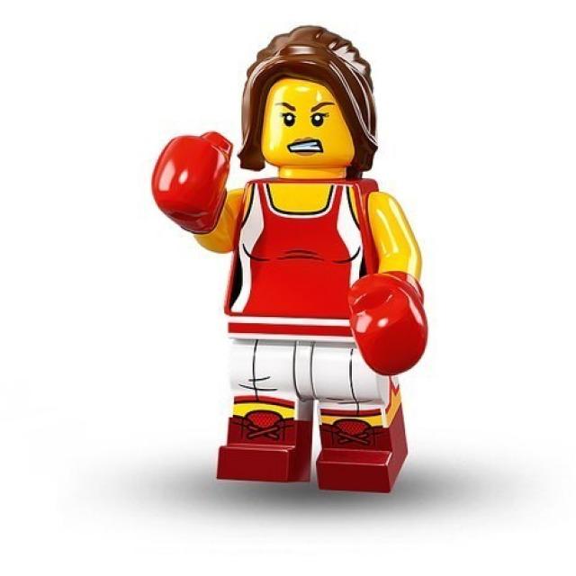 Obrázek produktu LEGO 71013 Minifigurka Kick-boxerka