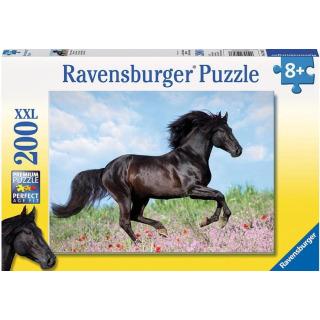 Obrázek 1 produktu Puzzle Černý hřebec 200d. XXL Ravensburger