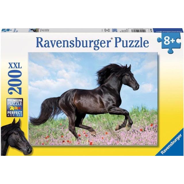 Obrázek produktu Puzzle Černý hřebec 200d. XXL Ravensburger