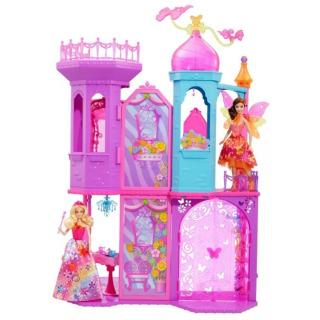 Obrázek 1 produktu Barbie Kouzelná dvířka Velký princeznin zámek, Mattel BLP42