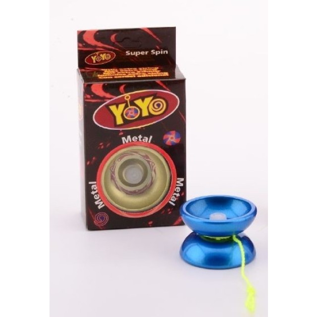 Obrázek produktu Jojo s kovovým středem modré