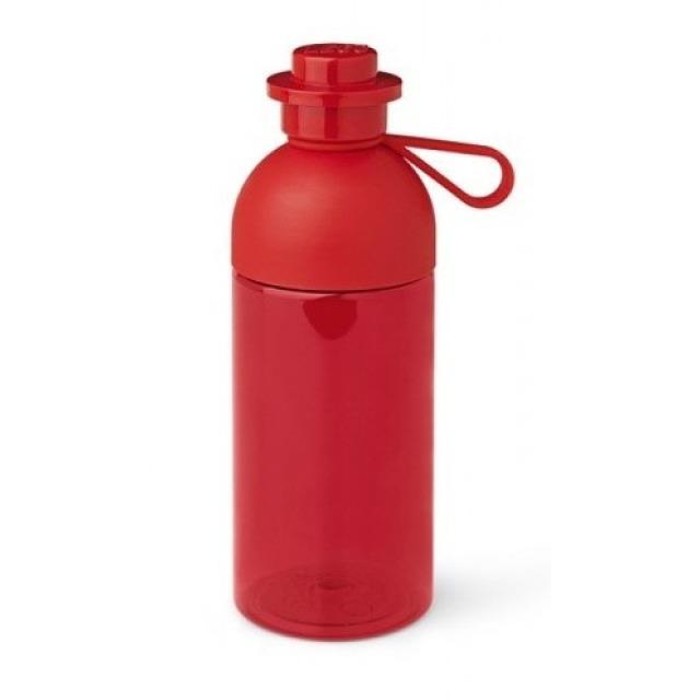 Obrázek produktu LEGO Láhev na pití transparentní 0,5l červená