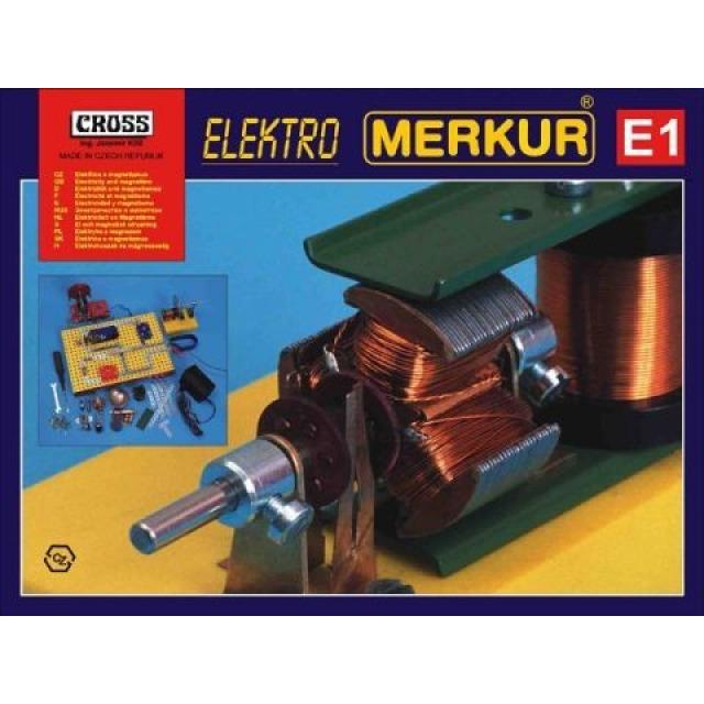 Obrázek produktu Merkur E1 Elektřina magnetismus