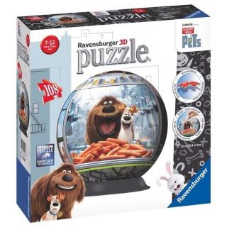 Obrázek 1 produktu Puzzleball Tajný život mazlíčků 108d. Ravensburger