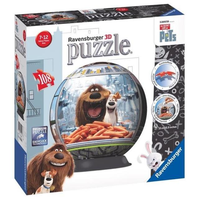 Obrázek produktu Puzzleball Tajný život mazlíčků 108d. Ravensburger