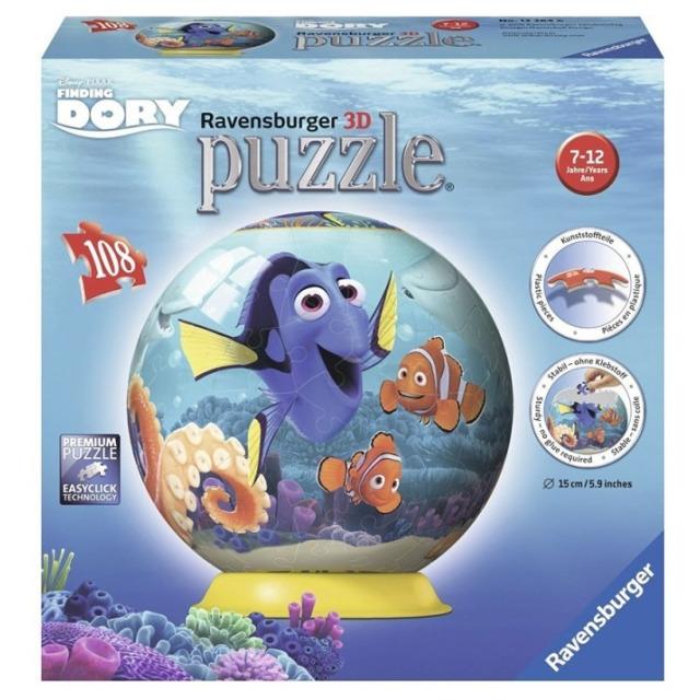 Obrázek produktu Puzzleball Hledá se Dory 108d. Ravensburger