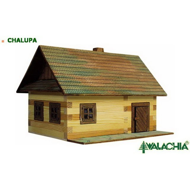 Obrázek produktu Walachia Roubená chalupa - dřevěná slepovací stavebnice