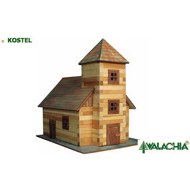 Obrázek produktu Walachia Kostel - dřevěná slepovací stavebnice