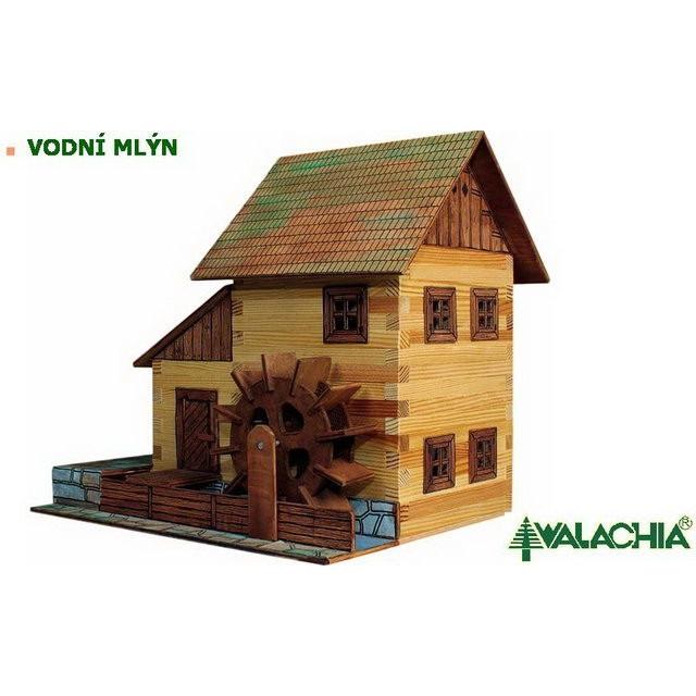 Obrázek produktu Walachia Vodní mlýn - dřevěná slepovací stavebnice