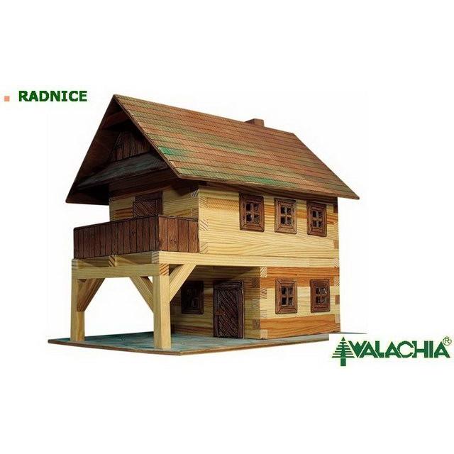 Obrázek produktu Walachia Radnice - dřevěná slepovací stavebnice