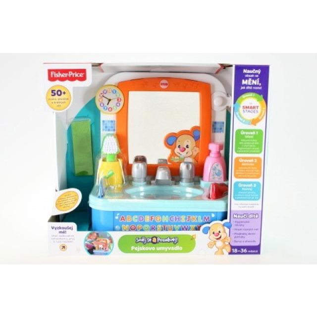 Obrázek produktu Fisher Price Smart Stages Pejskovo umyvadlo, Mattel DRH27