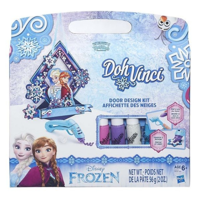 Obrázek produktu Play Doh Dohvinci Dekorační sada Anna a Elsa