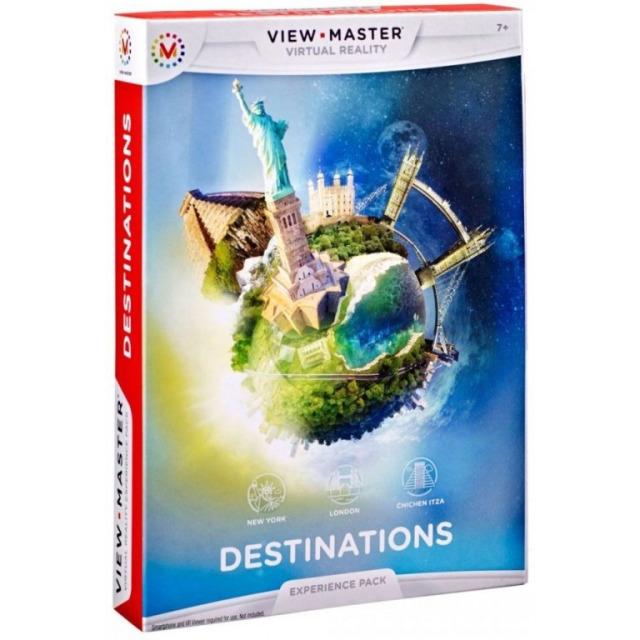 Obrázek produktu View Master zážitkový balíček: ZAJÍMAVÁ MÍSTA, Mattel DLL69