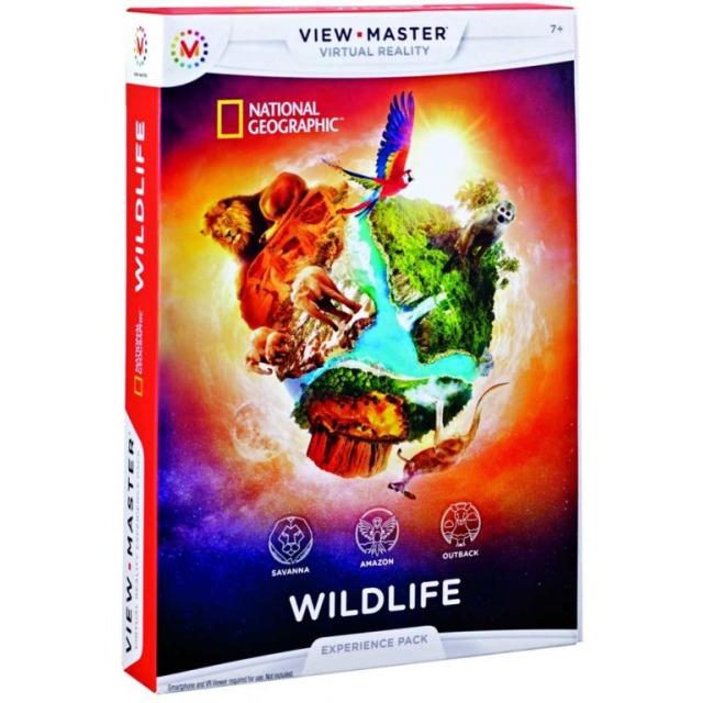 Obrázek produktu View Master zážitkový balíček: DIVOČINA Mattel DLL71