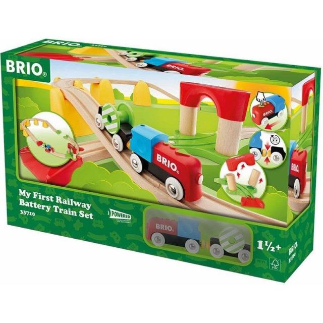 Obrázek produktu BRIO 33710 Moje první elektrická vláčkodráha