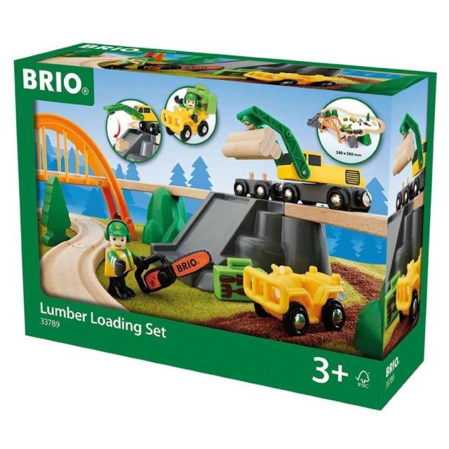 Obrázek produktu BRIO 33789 Vláčkodráha s nákladním vlakem