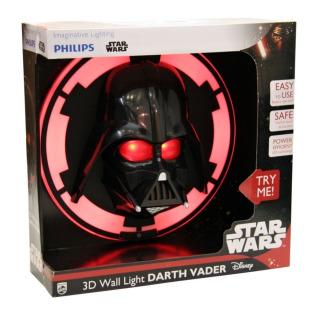 Obrázek 1 produktu Philips 3D světlo na zeď SW Darth Vader