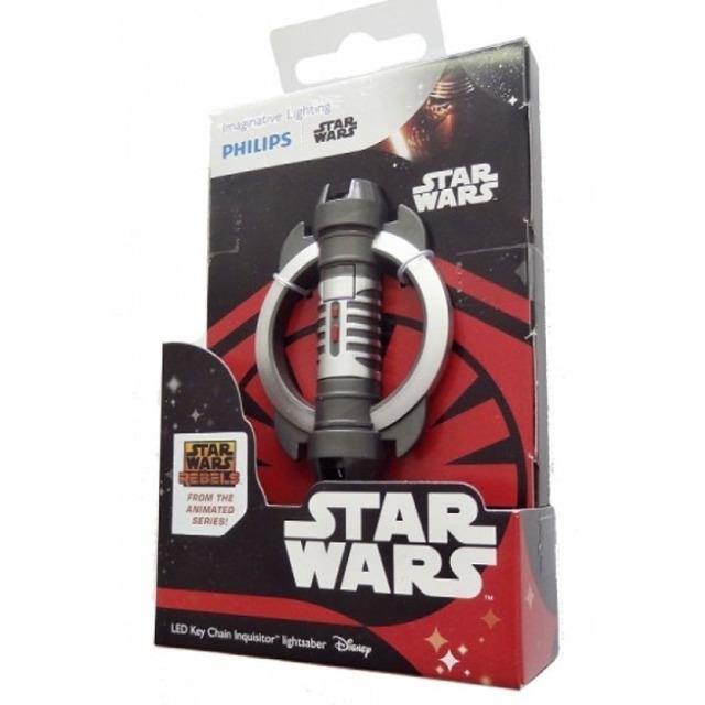 Obrázek produktu Philips Star Wars Rebels Inquisitor Lightsaber svítící klíčenka
