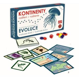 Obrázek 1 produktu Evoluce - Kontinenty (rozšíření)