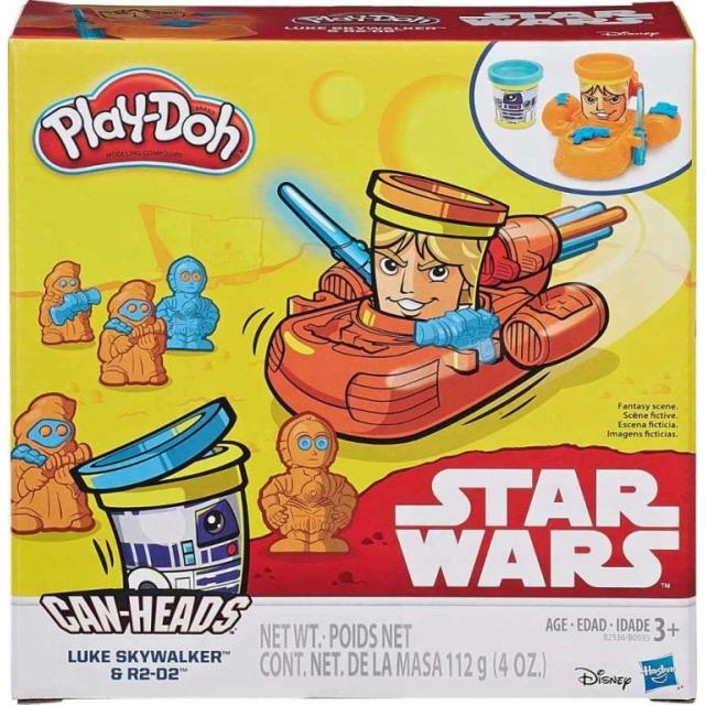 Obrázek produktu Play Doh Star Wars dvojbalení kelímků Luke Skywalker a R2-D2