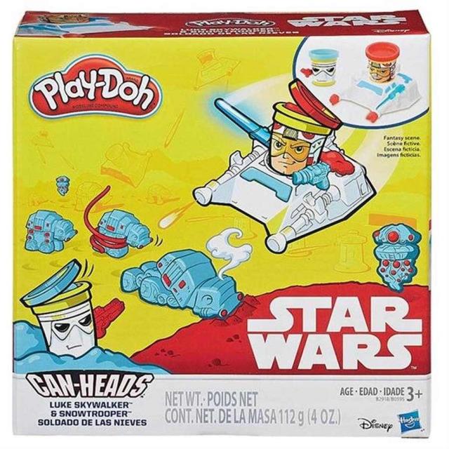 Obrázek produktu Play Doh Star Wars dvojbalení kelímků Luke Skywalker a Snowtrooper