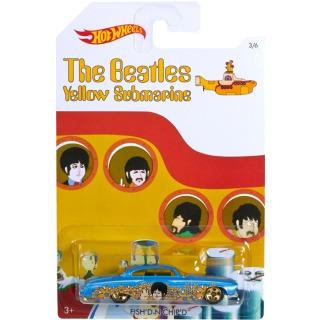 Obrázek 1 produktu Hot Wheels Angličák The Beatles Fish´D N Chip´D , Mattel DML71
