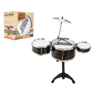 Obrázek 1 produktu Dětská sada 3 bubnů JAZZ DRUM + činel (bicí souprava)