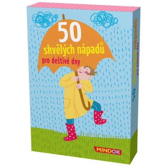 Obrázek produktu 50 skvělých nápadů pro deštivé dny , rychlá karetní hra