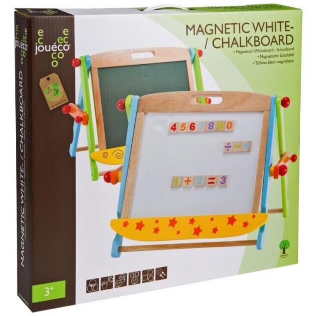Obrázek produktu Dřevěná magnetická/křídová tabule