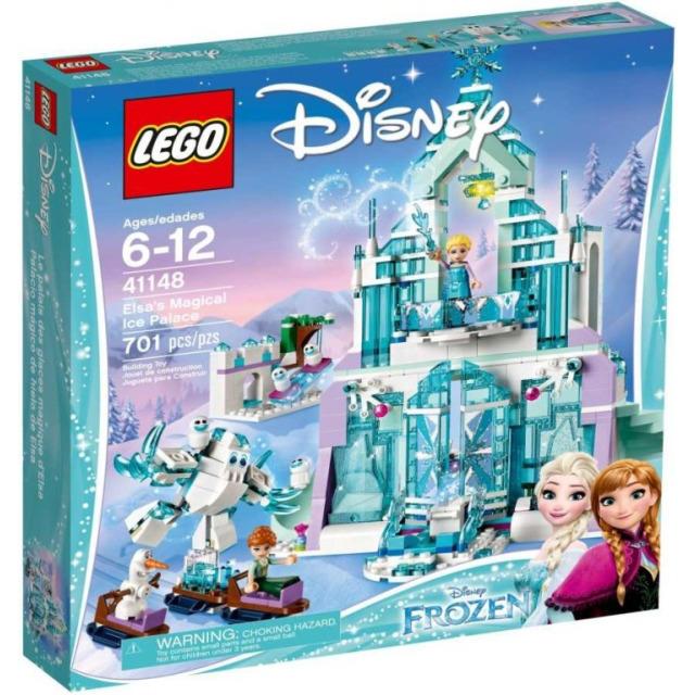 Obrázek produktu LEGO Disney 41148 Elsa a její kouzelný ledový palác